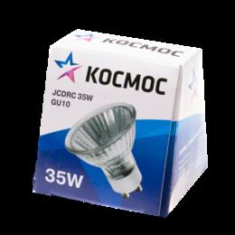 Лампочки - Лампа галогенная CL JCDRC 35Вт GU10 3000К 525Лм 50х57мм КОСМОС, 0