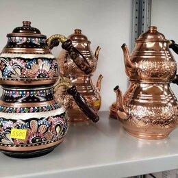 Заварочные чайники - Медный турецкий чайник, 0