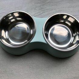 Миски, кормушки и поилки - Новая миска для собак и кошек , 0