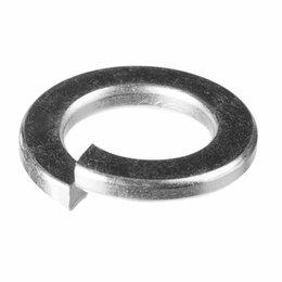 Шайбы и гайки - Оцинкованная пружинная шайба Зубр 6 мм DIN127 (5 кг), 0