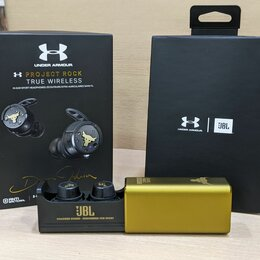 Наушники и Bluetooth-гарнитуры - Наушники jbl under armour project rock true wireless, 0