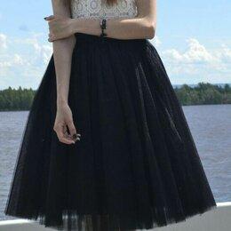 Юбки - юбка из сатина, 0