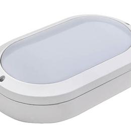 Настенно-потолочные светильники - DMS Светодиодный светильник, влагозащищенный DMS серии HCS Oval 15 Вт, 0