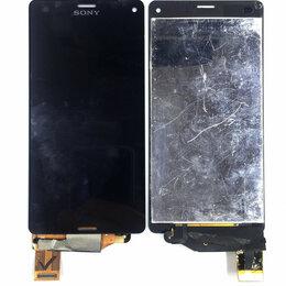 Дисплеи и тачскрины - Дисплей для Sony Xperia Z3 Compact (D5803 / 5833 / M55w) черный,оригинал, 0