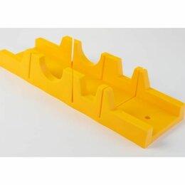 Стусла - Стусло пластмас. без пилы желтое 300ммх65мм, 0