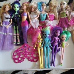 Куклы и пупсы - Куклы монстер хай и барби, 0
