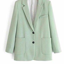 Пиджаки - Модный оверсайз пиджак из лёгкой ткани 48 рр, 0