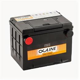 Автоэлектроника и комплектующие - Аккумулятор Alphaline 75-650 80 Ач 650А боковые клеммы, 0