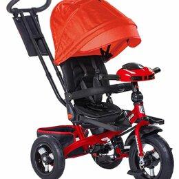 Трехколесные велосипеды - Велосипед 3-х кол. детский надувные колеса, 0