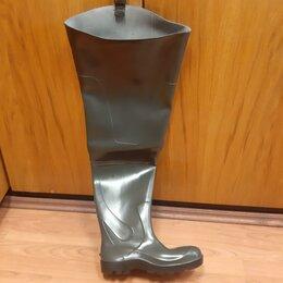 Одежда и обувь - Резиновые сапоги рыбацкие высокие, р. 43, новые., 0
