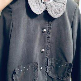 Комплекты и форма - Школьная форма серая на 146 жакет и юбка, 0