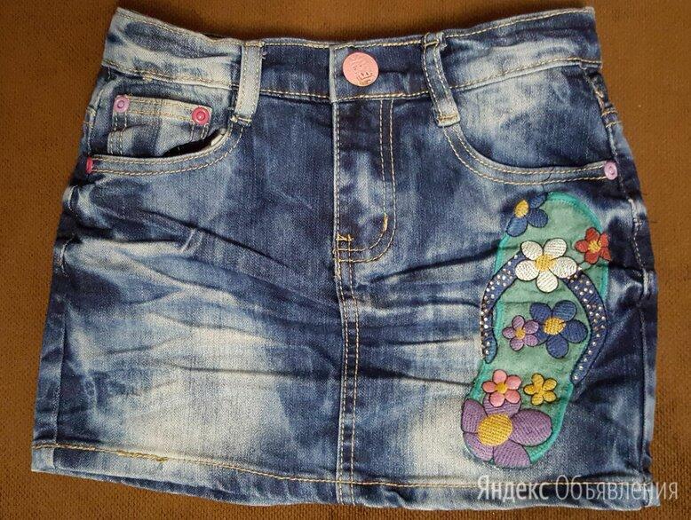 Джинсовая детская юбка по цене 250₽ - Юбки, фото 0