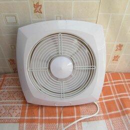 Вентиляторы -  Вентилятор встраиваемый (оконный или в вытяжку)  , 0