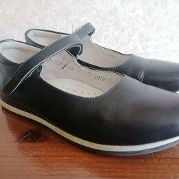 Балетки, туфли - Туфли школьные для девочки р-р 34, 0