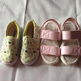 Босоножки, сандалии - Слипоны и босоножки, 28 размер, 0