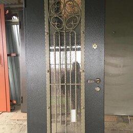 Входные двери - Кованые двери КОЛЬЦО утепленные с стеклопакетом, 0