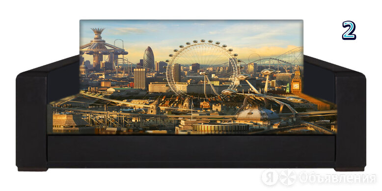 Диван Лондон с фотопринтом по цене 18500₽ - Диваны и кушетки, фото 0