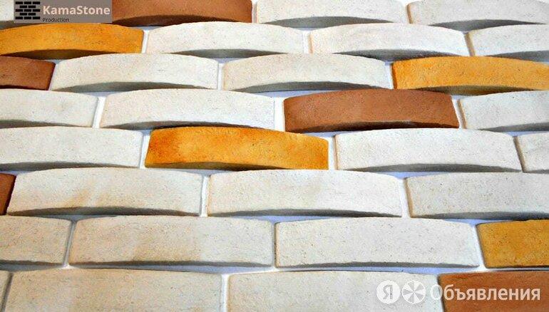 Декоративная плитка 3д под кирпич Kamastone Волна 11199-1, цвета Белая ночь с... по цене 683₽ - Пиломатериалы, фото 0