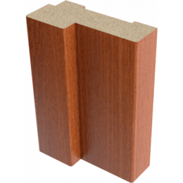 Дверные коробки - Коробка ламинация итальянский орех 26х70х2070мм, 0
