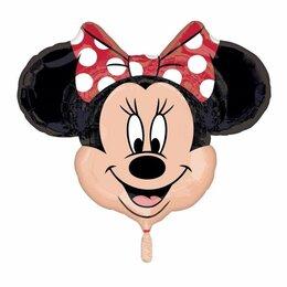 Воздушные шары - Шар голова Минни, 0
