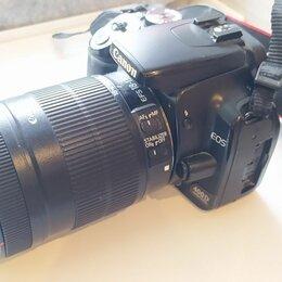 Фотоаппараты - Canon 400d ef s 18-135mm комплектация, 0