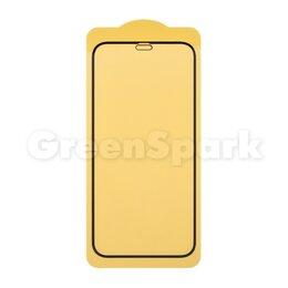 Защитные пленки и стекла - Защитное стекло 6D для iPhone 12 mini (черный) (VIXION), 0