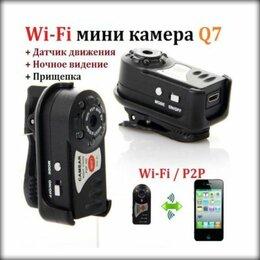 Видеокамеры - WiFi мини-камера Q7, 0