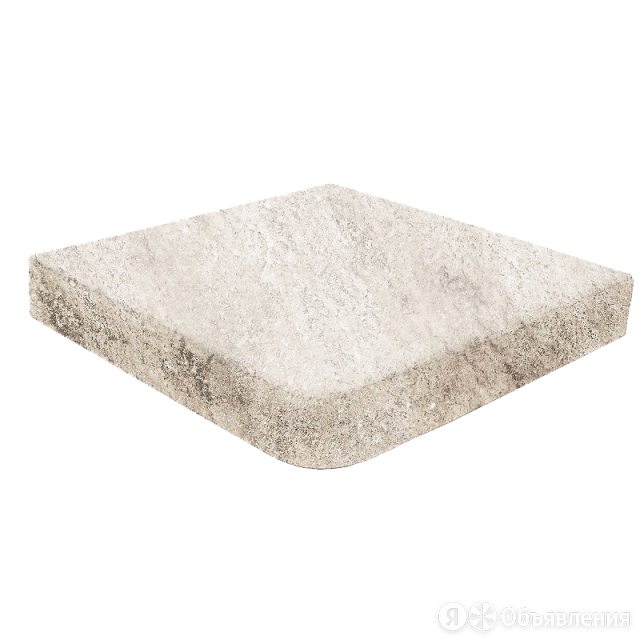Ступень угловая Evolution White stone 1 Rect 31,7*31,7   керамогранит Gresmanc по цене 2671₽ - Плитка из керамогранита, фото 0