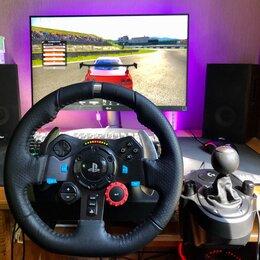 Рули, джойстики, геймпады - Игровой руль Logitech G29 + Shifter, 0