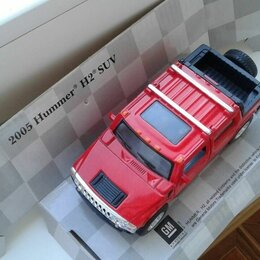Машинки и техника - Машинка Хаммер н2 металлическая, 0