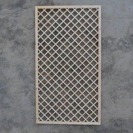 Заборчики, сетки и бордюрные ленты - Решетка садовая ячейка 80мм, 0