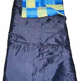 Спальные мешки - Спальный мешок БАТЫР XXL СОШ-3 (220*90) синий (синтепон) Helios, 0