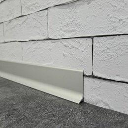 Плинтусы, пороги и комплектующие - Плинтус алюминиевый approf apl40 анодированный 3000х40х11 мм, 0