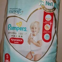 Подгузники - Подгузники-трусики pampers premium care 12-17кг 34шт, 0