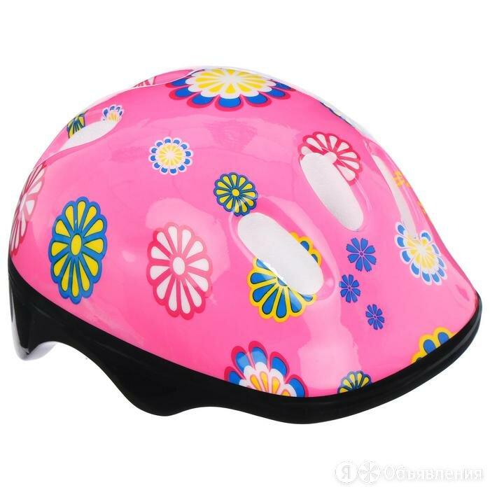 Шлем защитный OT-SH6 детский, размер S (52-54 см), цвет розовый по цене 423₽ - Спортивная защита, фото 0
