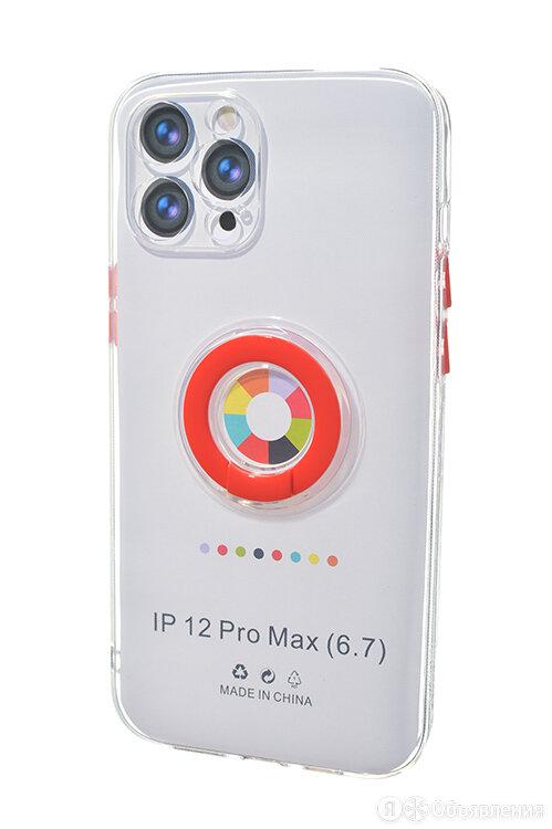 Чехол-накладка для iPhone 12 Pro Max NEW RING TPU красный по цене 200₽ - Чехлы, фото 0