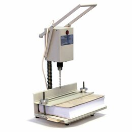 Брошюровщики - Станок для архивного переплета вертикальный УПД 2В, 250 Вт, с лотком, сшивка до , 0