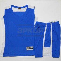 Спортивные костюмы и форма - Форма баскетбольная майка шорты сине-бел жен (х5), 0
