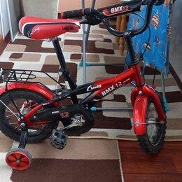 Велосипеды - B'twin велосипеды детские красный, 0