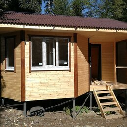 Готовые строения - Каркасно-щитовой дом 5*6 м, 0