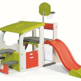 Игровые и спортивные комплексы и горки - Детский спортивно-игровой комплекс Smoby 840203, 0