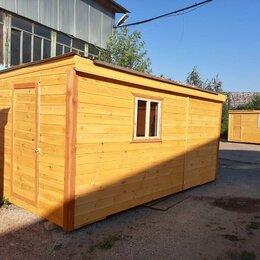 Готовые строения - Бытовка 5х2.30 новая деревянная А-675, 0