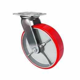Оборудование для транспортировки - Большегрузная поворотная колёсная опора ф 100, 125, 150, 200 мм, 0