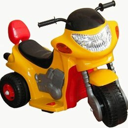 Электромобили - Детский мотоцикл машинка на аккумуляторе, 0