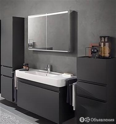 Зеркальный шкаф Geberit Option с сенсорной подсветкой 900/150/700мм зеркальны... по цене 44439₽ - Шкафы, стенки, гарнитуры, фото 0