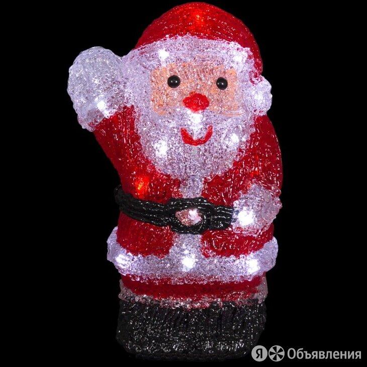 """Светодиодная акриловая фигура SH """"Дед мороз на батарейках"""" 250*130 мм, IP20 по цене 1282₽ - Интерьерная подсветка, фото 0"""