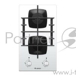 Плиты и варочные панели - Панель варочная Gefest ПВГ 2003 K12 в.г/пан (Белая), 0