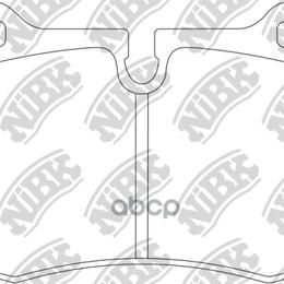 Тормоза - Колод. Торм. Диск. Nibk Pn0165s NiBK арт. PN0165S, 0