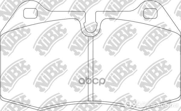 Колод. Торм. Диск. Nibk Pn0165s NiBK арт. PN0165S по цене 8100₽ - Тормозная система , фото 0