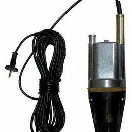 Насосы и комплектующие - Насос вибрационный погружной Водолей-3к, 40м, 3ж, т./защ., нижний забор, 220 ..., 0